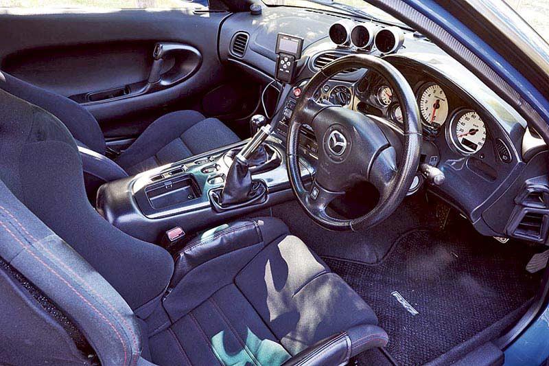 Mazda Rx -7 Bathurst R Interior