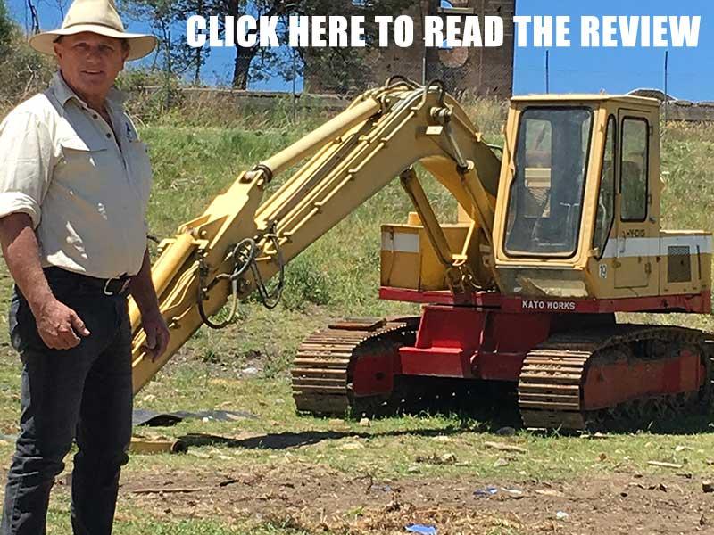 Kato 550G excavator
