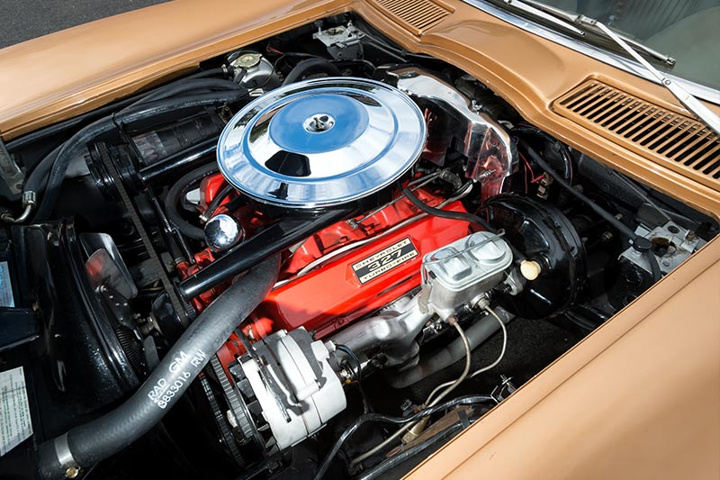 Corvette -stingray -engine -bay