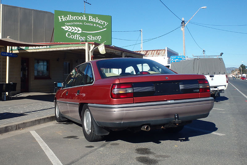 Holden -vn -calais -rear