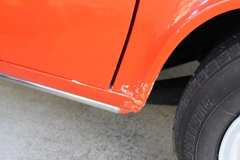 Triumph -2500s -rust -spot
