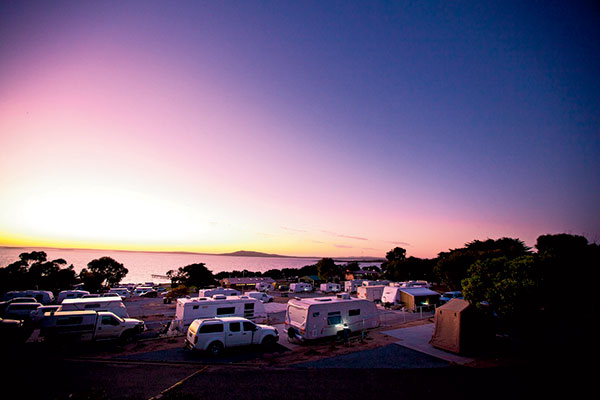 Caravan -site -at -Port -Lincoln -Tourist -Park -SA