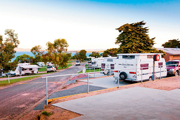 Drive -through -caravan -site -at -Port -Lincoln -Tourist -Park -SA