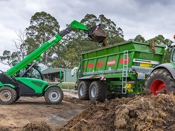 Impact protection is fitted to the top of the bin sides to prevent damage while loading