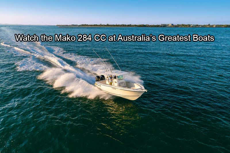 Mako 284 Centre Console fishing boat