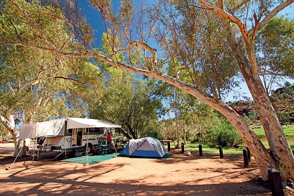 Bush -camping