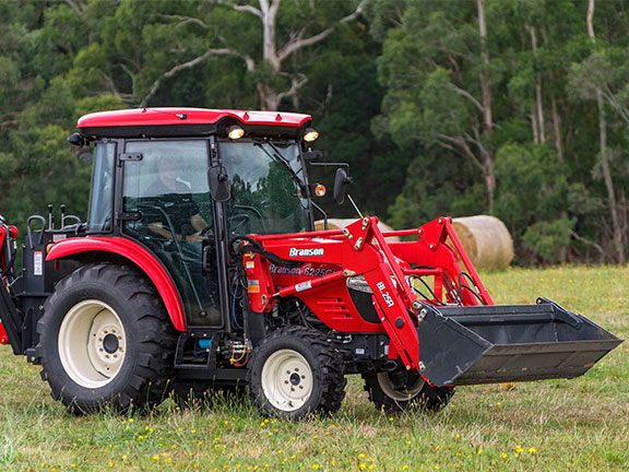 The Branson 6225Ch tractor review