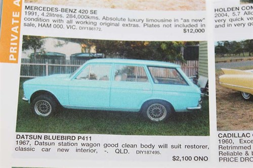 Datsun -bluebird -wagon