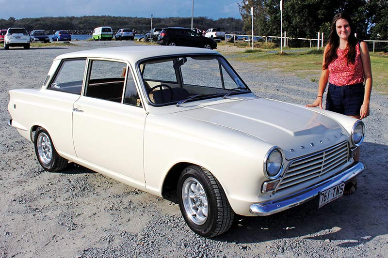 Ford -cortina -corrine -mills