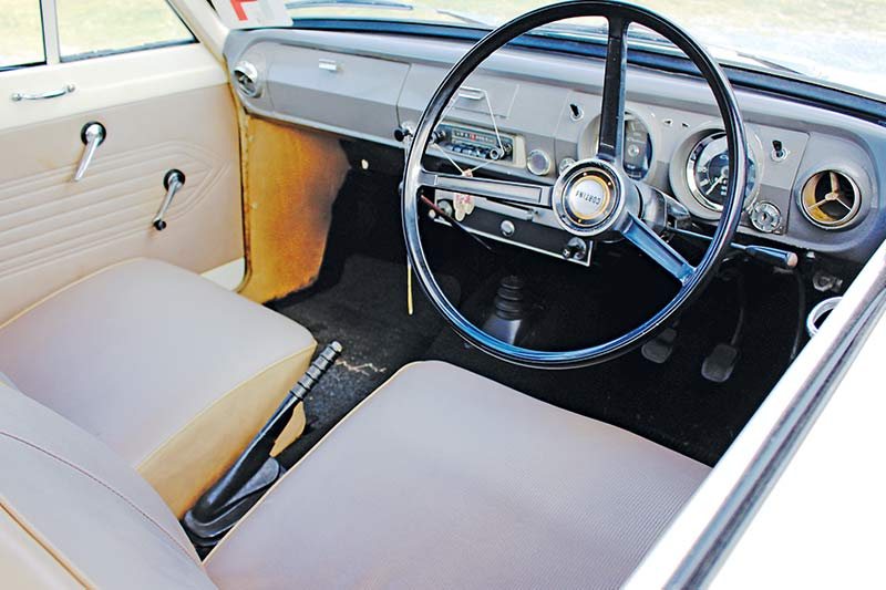 Ford -cortina -interior