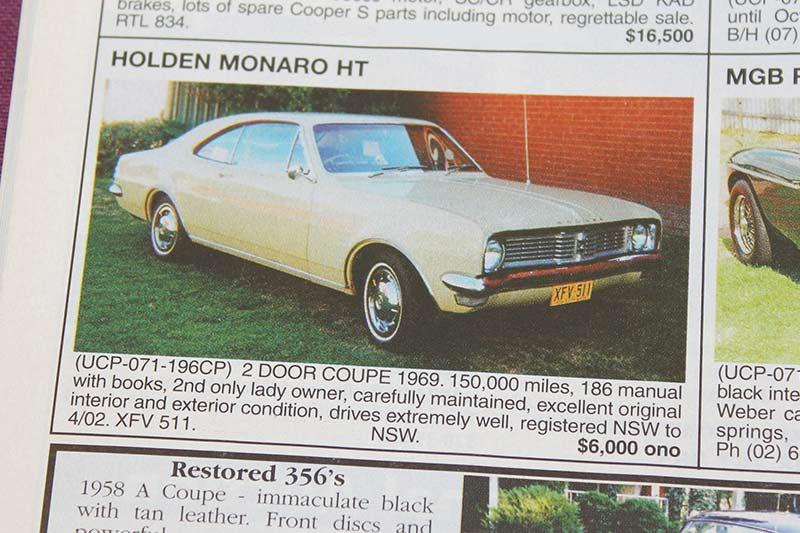 Holden -ht -monaro