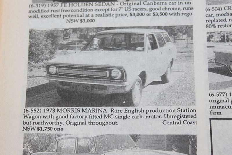 Morris -marina -wagon