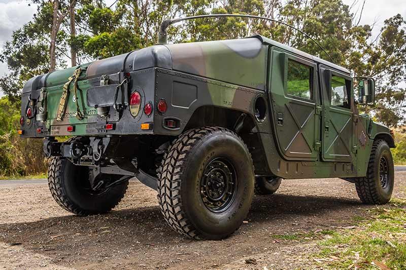 Humvee -2-rear -angle