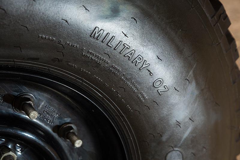 Humvee -tyres