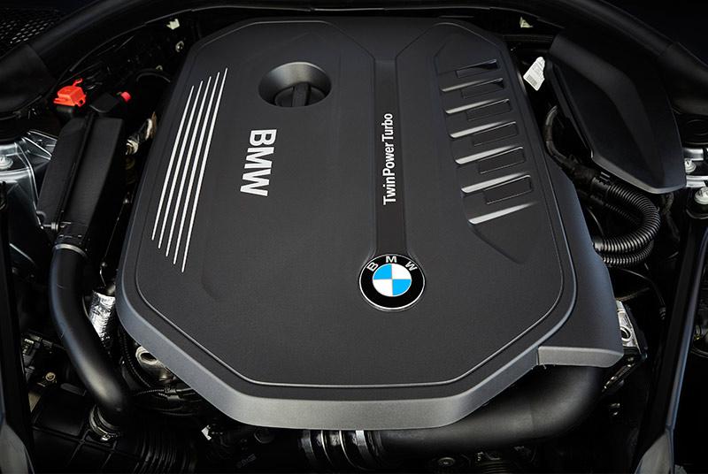 Bmw -5-series -engine