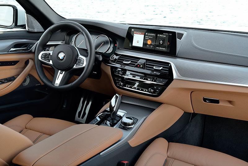 Bmw -5-series -interior