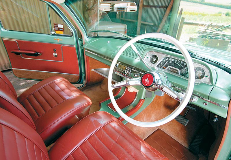 EH-Holden -interior