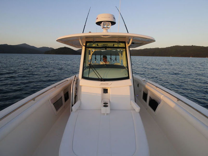 Boston Whaler 350 Outrage T-Top