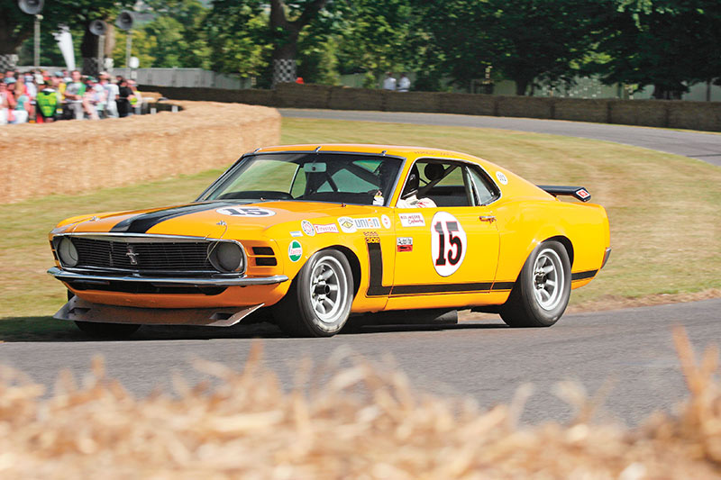 Parnelli Jones Mustang Goodwood