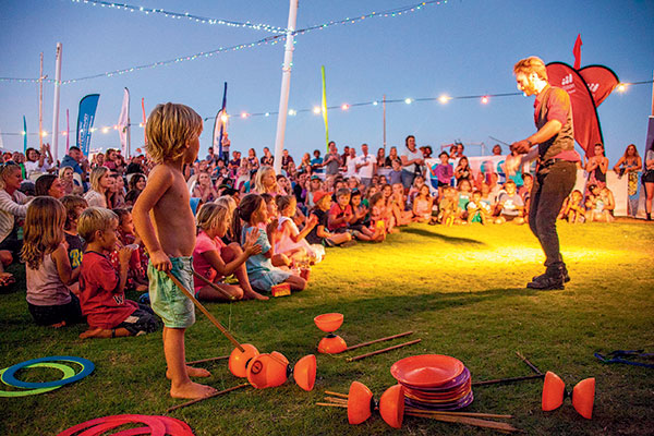 A-kid -standing -among -the -croud -at -the -Ningaloo -Whaleshark -Festival -2014