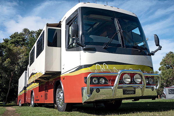 Customised -Denning -motorhome