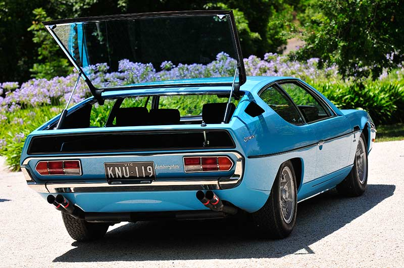 Lamborghini -espada -boot -up -2
