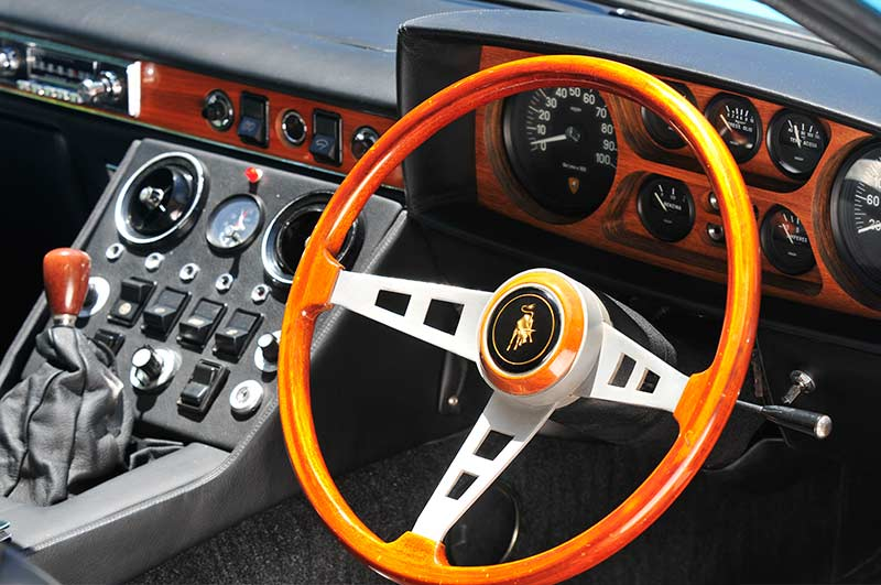 Lamborghini -espada -dash