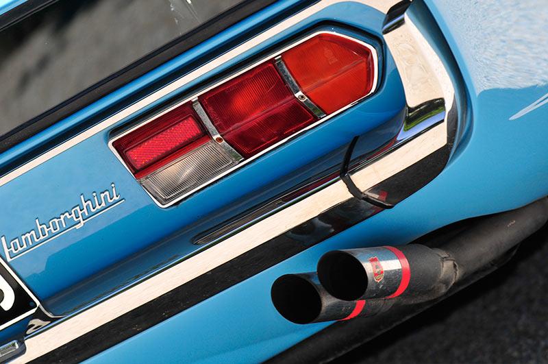 Lamborghini -espada -exhausts
