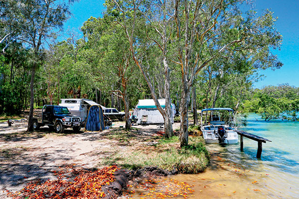 Waterfront -camping -in -Tuan -State -Forest
