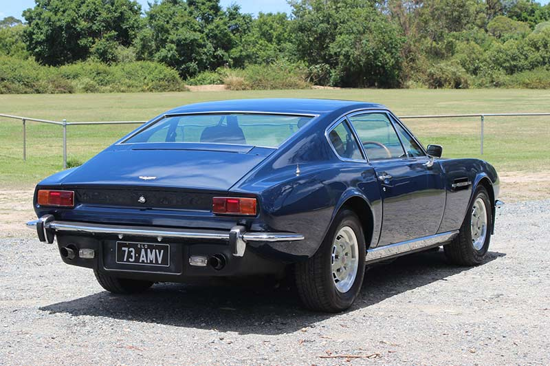 Aston -martin -series -3-v 8-rear