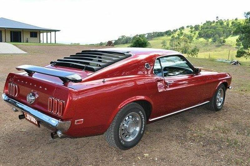 Mustang -cobra -jet -rear