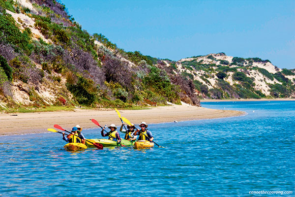 Canoeying -on -the -Coorong