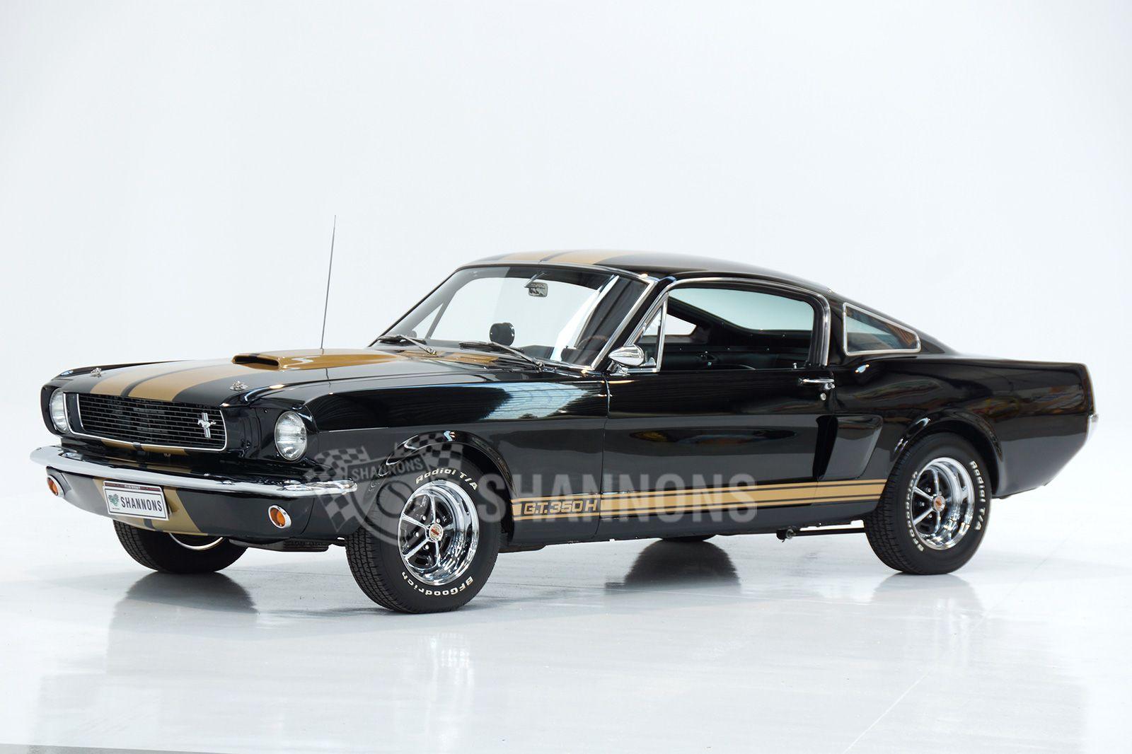 1966 Shelby Mustang GT350H 'Hertz' Fastback