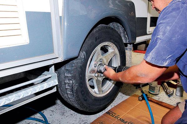 Removing -road -wheel