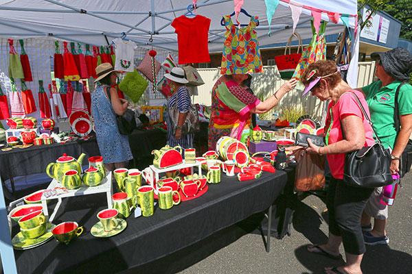 Watermelon -wares -market -at -Chinchilla -Melon -Fest