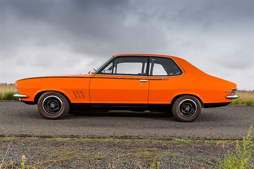 Holden -torana -side -view