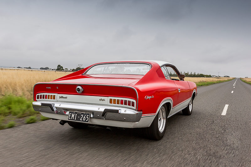 Chrysler -charger -onroad -rear
