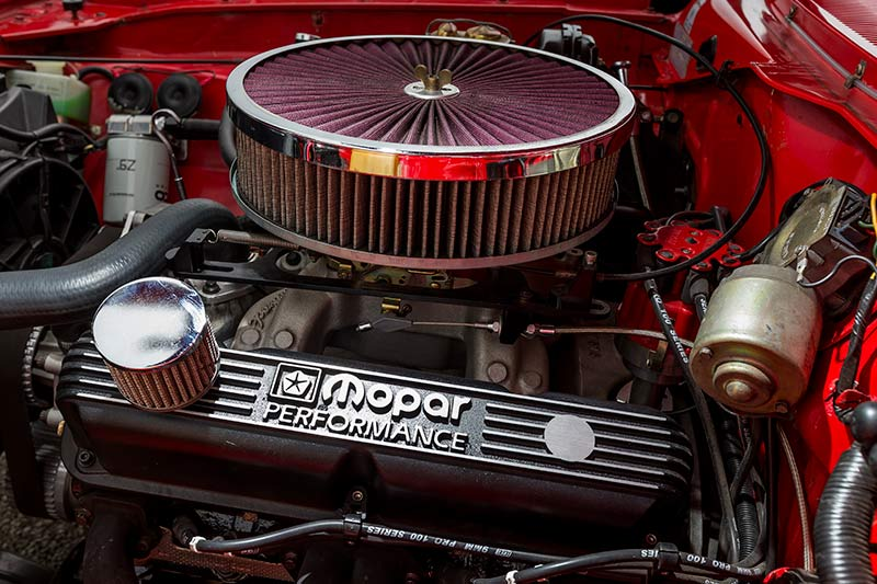 Chrysler -charger -engine