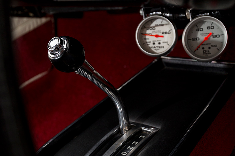 Chrysler -charger -gearstick