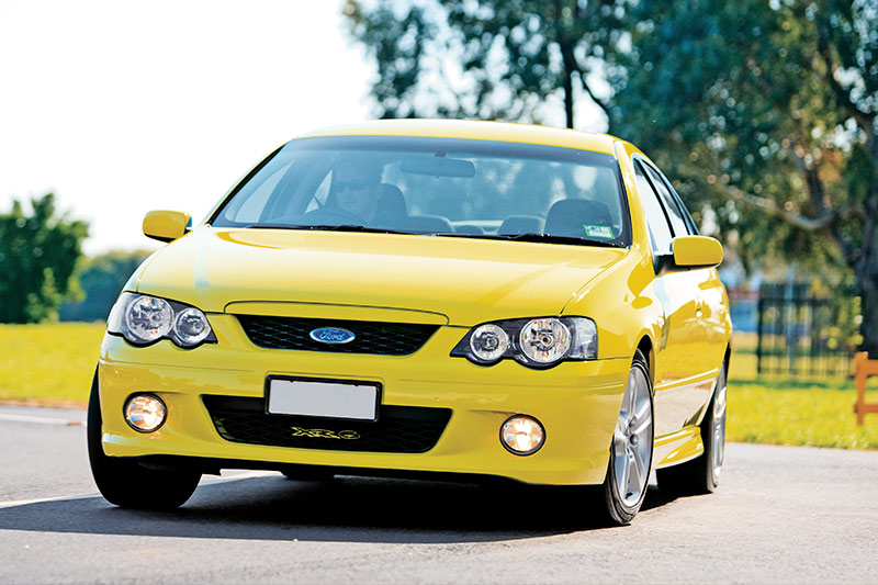 Ford -falcon -xr6
