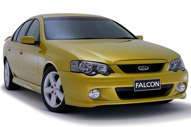 Ford -falcon -ba -xr 6-turbo