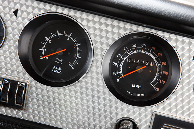 Chrysler -charger -e 55-gauges