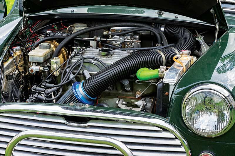 Twin Engined 1970 Mini Reader Resto