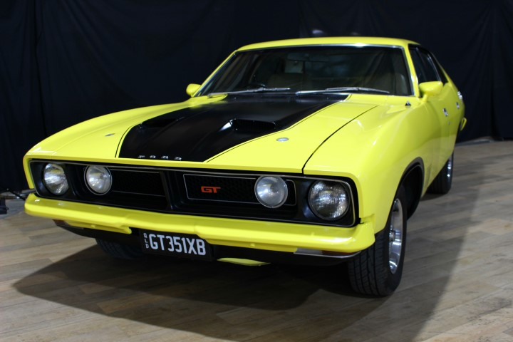 1974 Ford Falcon XB GT sedan