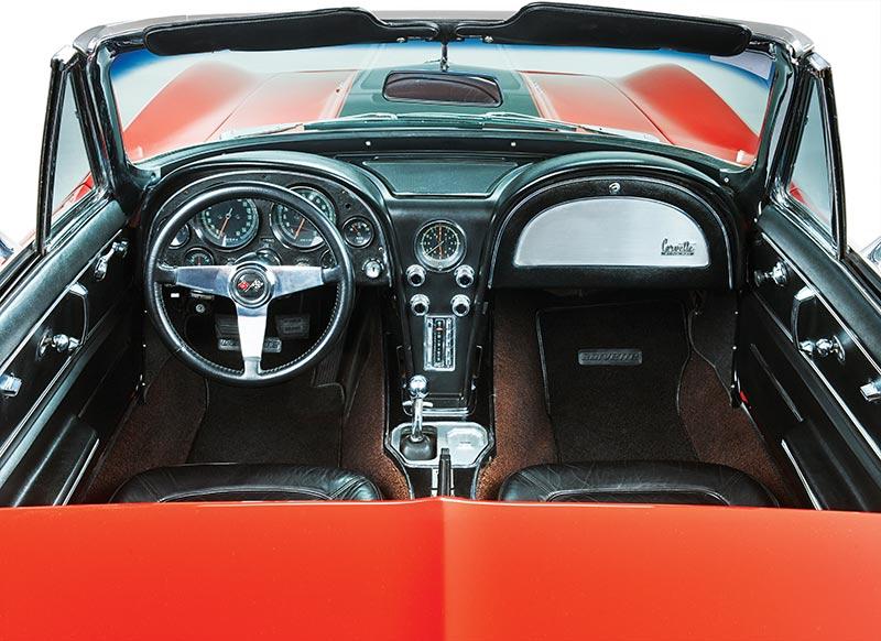 Corvette -interior