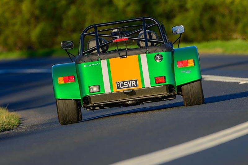 Caterham -seven -onroad -rear