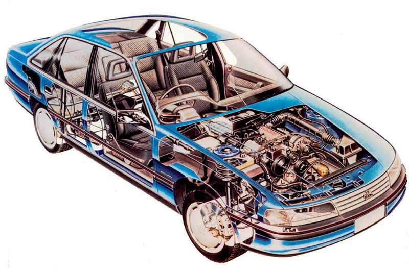 Holden -commodore -vn -driveline