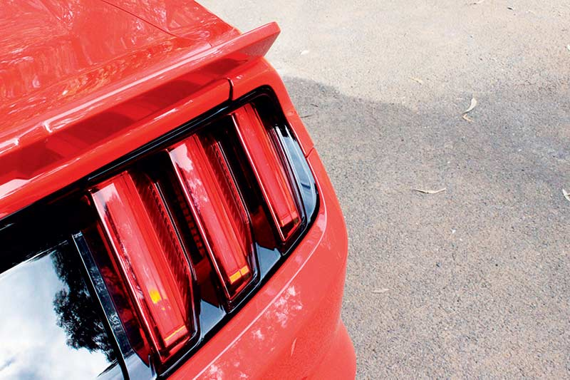 Roush -mustang -tail -lights