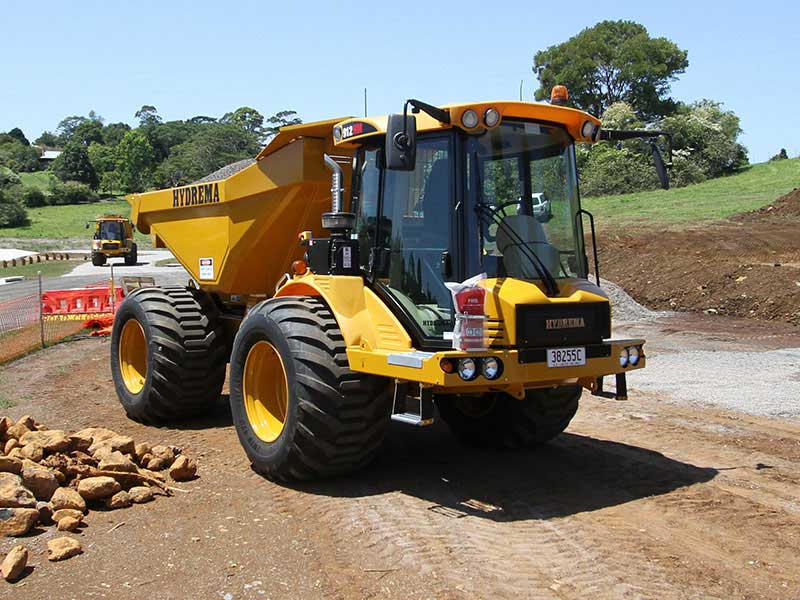 Hydrema 912ES compact dump truck