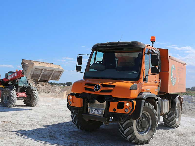 Mercedes Benz Unimog U430 truck